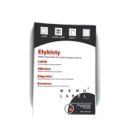 "Etykiety do drukarek A4 ""1"" 210x297mm 100ark."