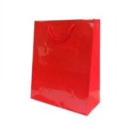 b52a3daf82ab9 Torebka laminowana 300x100x400mm czerwona