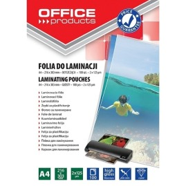 Folia do laminowania OfficeP A4 125um 100szt.