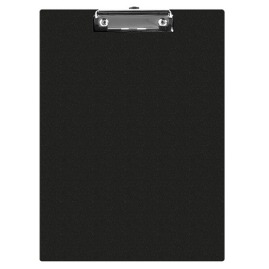 Clipboard Q-CONNECT PVC A5+ czarny