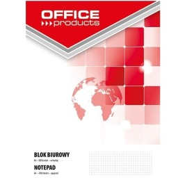 Blok biurowy Office Products a4/100 kratka