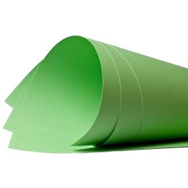 Papier Brystol Kolor Zielony 420X297mm A3 20ark.